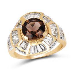 2 ctw Morganite Ring 14K Rose Gold
