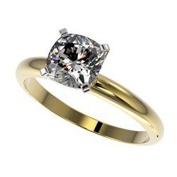 3.25 ctw Blue Sapphire & Diamond Ring 10K White Gold