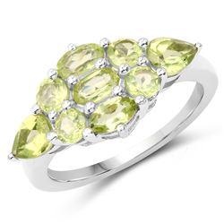 0.65 ctw VS/SI Diamond Earrings Halo 18K White Gold