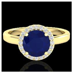 1 ctw Fancy Black Diamond Art Deco Stud Necklace 18K White Gold