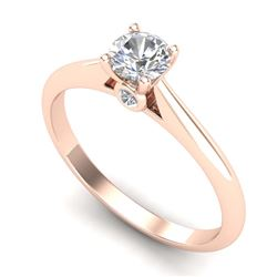 0.78 ctw H-SI/I Diamond Ring 10K Yellow Gold