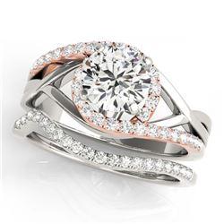 4.67 ctw Emerald & Diamond Necklace 14K Yellow Gold