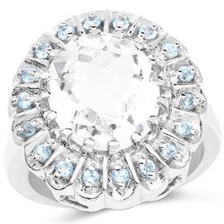 2.22 ctw Genuine Black Diamond .925 Sterling Silver Bangle