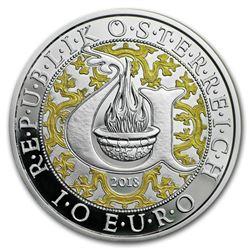 2018 Austria Proof Silver 10 Guardian Angels (Uriel)