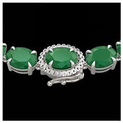 6 ctw Garnet & Halo VS/SI Diamond Necklace 14K Rose Gold