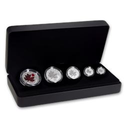 2020 Canada 5-Coin Silver Maple Leaf O Canada Fractional Set