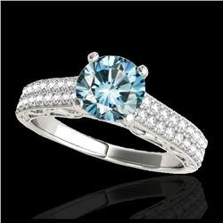 1.63 ctw H-SI/I Diamond Solitaire Ring 10K Rose Gold