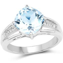 1 ctw VS/SI Diamond 2 Stone Solitaire Ring 14K White Gold