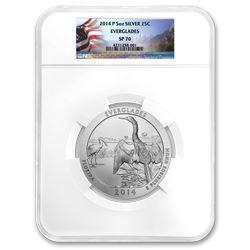 2014-P 5 oz Silver ATB Everglades SP-70 NGC