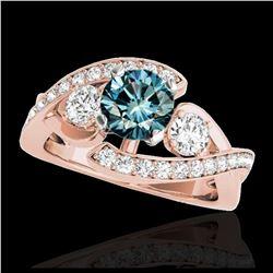 10.15 ctw Sapphire & Diamond Earrings 14K Yellow Gold