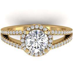 4 ctw SI/I Intense Blue And Diamond Earrings 18K White Gold