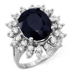 1.50 ctw Black Diamond Ring Martini 18K Rose Gold