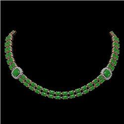 4.25 ctw Sky Blue Topaz & VS/SI Diamond Earrings 18K Yellow Gold