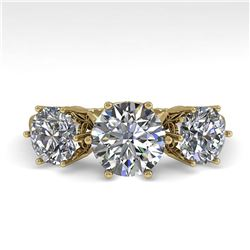 31.96 ctw Multi Color Sapphire & Diamond Necklace 10K White Gold