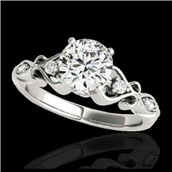 2 ctw Citrine & Halo VS/SI Diamond Ring 18K Yellow Gold