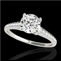 3.89 ctw Canary Citrine & Diamond Earrings 14K Rose Gold