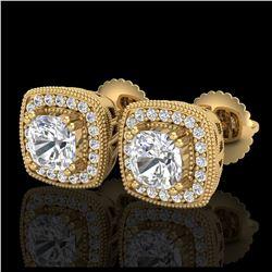 17.19 ctw Aquamarine & Diamond Bracelet 14K Rose Gold