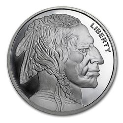 2 oz Silver Round - Buffalo