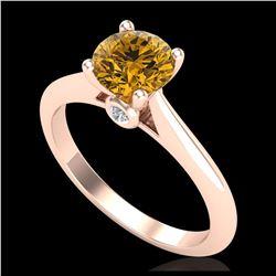 2.50 ctw VS/SI Cushion Diamond Stud Earrings 10K Yellow Gold