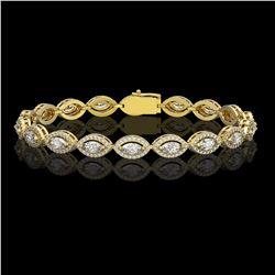 6 ctw Amethyst & VS/SI Diamond Halo Earrings 18K White Gold