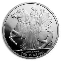 2017 British Virgin Islands 1 oz Silver Pegasus Proof