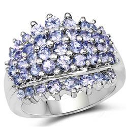 2.50 ctw Sapphire & VS/SI Diamond Necklace 14K Yellow Gold