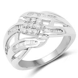 3 ctw Sapphire And VS/SI Diamond Ring 18K Yellow Gold