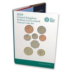2019 Great Britain 13-Coin Annual Set BU