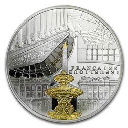2017 France Silver 10 UNESCO (Concorde & Assemblée Nationale)
