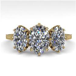 31.96 ctw Tanzanite & Diamond Halo Necklace 10K Yellow Gold