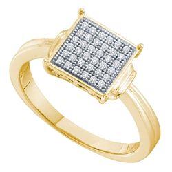 Sterling Silver Round Blue Color Enhanced Diamond Heart Screwback Dangle Earrings 1/5 Cttw