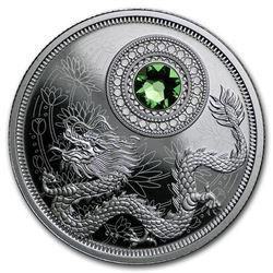 2016 Canada 1/4 oz Silver $5 Birthstones (August)