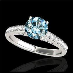 1.90 ctw VS/SI Diamond Earrings 14K Rose Gold