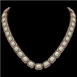 7 ctw Sapphire & VS/SI Diamond Heart Earrings 14K White Gold