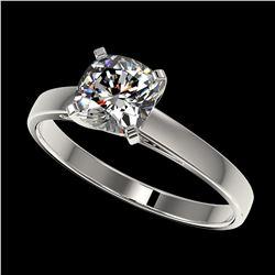 3.15 ctw Sapphire & VS/SI Diamond Necklace 18K Yellow Gold