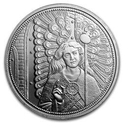 2018 Austria Silver 10 Guardian Angels (Raphael)
