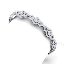 30.62 ctw Citrine & Diamond Necklace 14K Yellow Gold