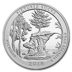 2018 5 oz Silver ATB Pictured Rocks National Lakeshore\, MI