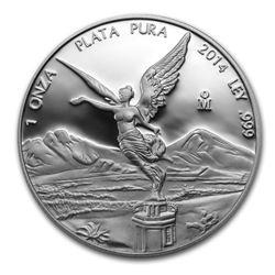 2014 Mexico 1 oz Silver Libertad Proof (In Capsule)
