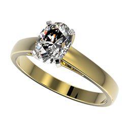 3.25 ctw Blue Sapphire & Diamond Ring 14K White Gold