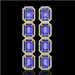 4.97 ctw Ruby & Diamond Necklace 14K White Gold
