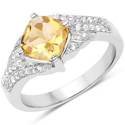 1.50 ctw Black Diamond Necklace 14K Rose Gold