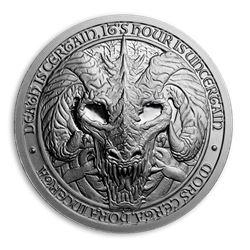 2 oz Silver Round - Destiny Knight: Dragon of Death
