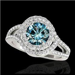 10.23 ctw Emerald & Diamond Earrings 14K Yellow Gold