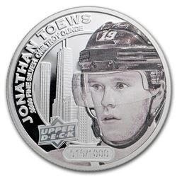 2017 Grandeur 1 oz Silver Hockey: Toews (High Relief)