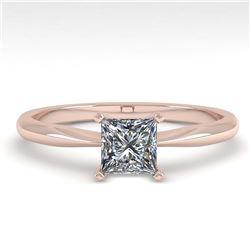 1.01 ctw VS/SI Diamond Ring 18K Yellow Gold