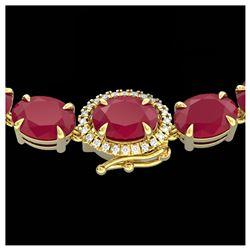 5.50 ctw Aquamarine & VS/SI Diamond Halo Earrings 14K Rose Gold