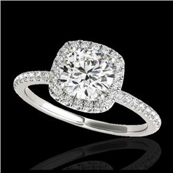111.75 ctw Ruby & Diamond Necklace 14K White Gold