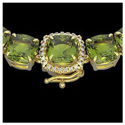 7.54 ctw Turquoise & Diamond Earrings 14K White Gold