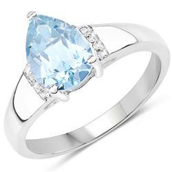 0.85 ctw VS/SI Diamond 2 Stone Ring 14K White & Rose Gold